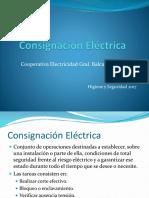 Consignación Eléctrica
