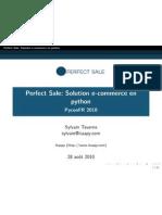 Pyconfr 2010 Ecommerce Perfect Sale