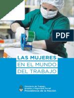 Ministrerio de Trabajo Nación- Las Mujeres en El Mundo Del Trabajo