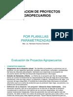 Evualuacion de Proyectos Agropecuarios