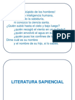V. Poeticos y Sapienciales