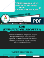 Enhached Oil Recovery