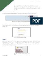 Ithenticate Quickstart Guide