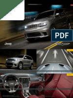WK2 Jeep Grand Cherokee TrackHawk Reveal Brochure 2018