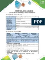Guía de Actividades y Rúbrica de Evaluación - Paso 1. Implementación Oportunidades PML en El Hogar