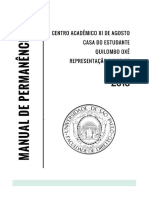 Manual de Permanência 2018