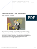 Difference Between Loans and Advances (With Comparison Chart) - Key Differences