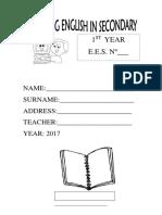 Libro de 1° 2017