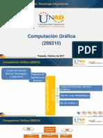 Presentacion Del Curso Computacion Grafica - 299210