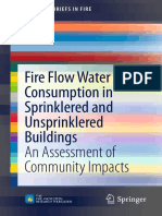 Fire Flow Water Consumption in Sprinklered and Unsprinklered Buildingsan Assessment of Community Impacts