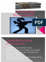 Corporate Debt Retructuring by Nakul Malik