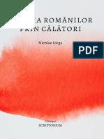 Iorga-Istoria Romanilor Prin Calatori