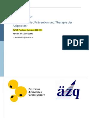 Verwendung von Metformin zur Gewichtsreduktion pdf