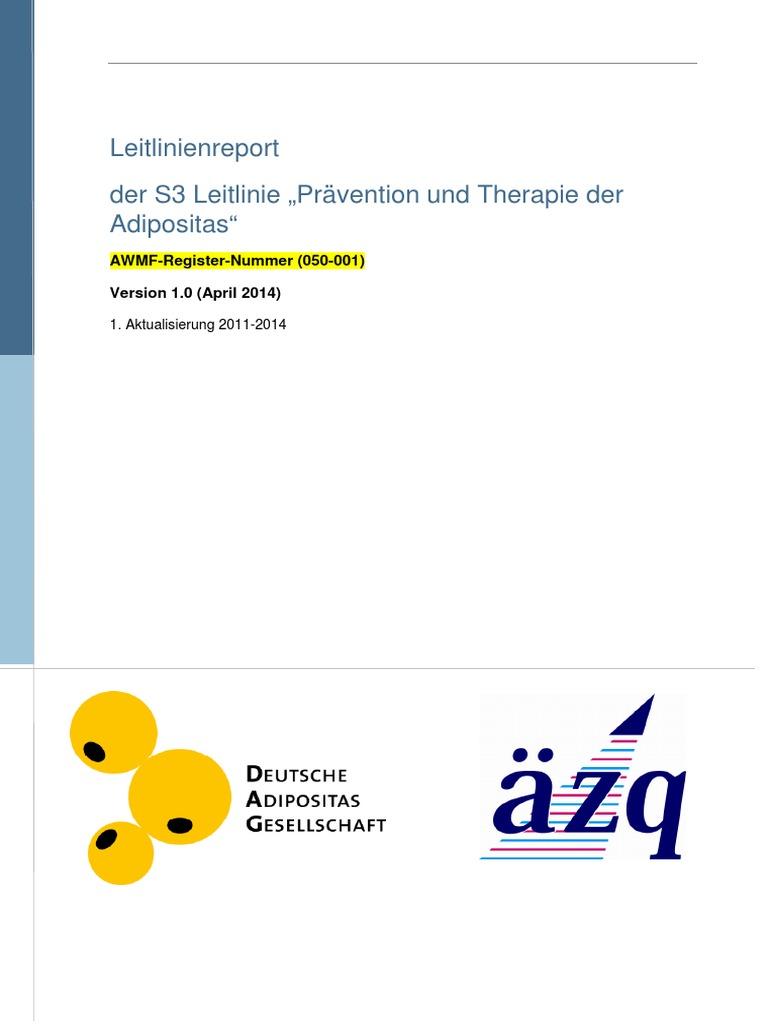 Leitlinienreports | Evidence Based Medicine | Quality
