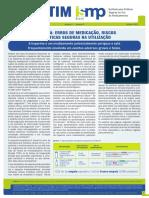Art Cient [Heparina (erros de medicação, riscos e práticas seguras na utilização)] por ISMP 2013.pdf