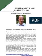 PREGÓN SEMANA SANTA DE LA LAGUNA 2007