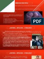 EMBARAZO Gemelar monocorial monoamniotico