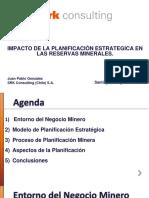 2 - Impacto Planif Estrategica en Reservas Minerales - JP Gonzalez -SRK