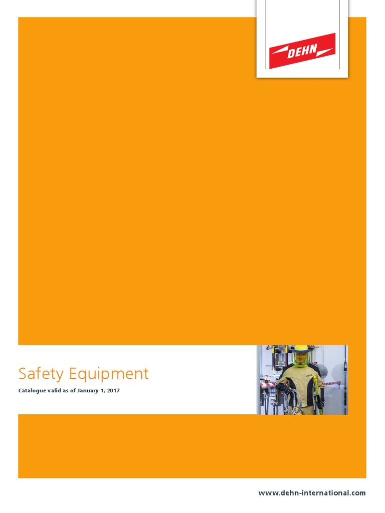 Dehn Catalogue Safety Equipmentpdf Insulator Electricity Bracket Sk10 Untuk Shaft 10mm Vertical Alternating Current