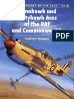 Osprey - Aircraft of the Aces 038 - Tomahawk and Kittyhawk of the RAF