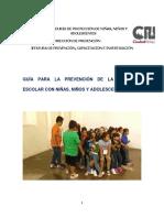 Guía de La Temática Violencia Escolar. Compilación, selección y redacción Martín Rolón Y Victor Lomelí