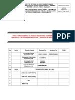 D-SIHO-PC-003 SANEAMIENTO DE FACILIDADES TEMPORALES Y RECEPCION Y DESPACHO DE MATERIALES EN ALMACEN.doc