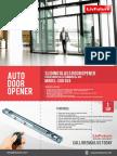 Glass Door Opener SGD 304-Min