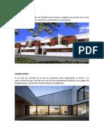 Casas en Hilera y casas Patio - Arquitectura