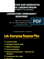 007 - Laboratory Emergency Response Plan
