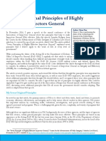 Seven Additional Principles of Highly Effective Inspectors General