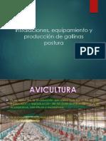 Instalaciones, Equipamiento de Gallina Ponedoras