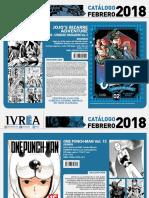 Proximas Novedades Ivrea - Febrero 2018