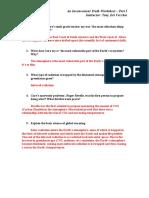 Ait Worksheet Answers Part i