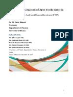 F 307 Report