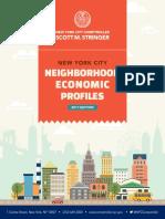 NYC Neighborhood Economic Profiles 2017