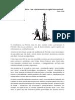 A Greve Dos Petroleiros é Um Enfrentamento Ao Capital Internacional
