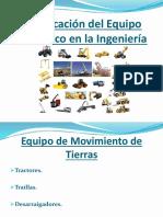 89562676 Clasificacion Del Equipo Mecanico en La Ingenieria