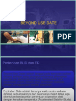 Beyond Use Date