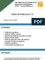 DIL01150 - Análise de Potência Em CA