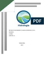 Informe de Instrumentos de Medicion Metereologica