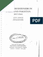 [Aziz Ahmad] Islamic Modernism in India and Pak