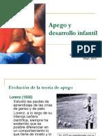 Apego y Desarrollo Infantil