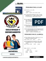 Aritmetica 2 Razones III