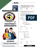 Aritmetica 4 Magnitudes Proporcionales III