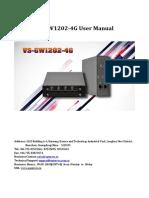 Vs GW1202 4G User Manual