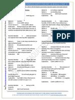 EASA Part-66 Exam Questions of Module 05 Avionics - Part V