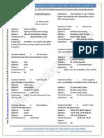 EASA Part-66 Exam Questions of Module 05 Avionics - Part VI