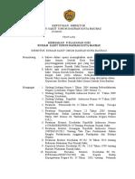 Keputusan Direktur Rsud Baubau - Kebijakan Pelayanan Gizi