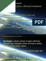 Ecologia Humana Um Caminho Para o Desenvolvimento Do Planeta