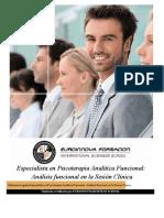 Psicoterapia Analitica Funcional Sesion Clinica